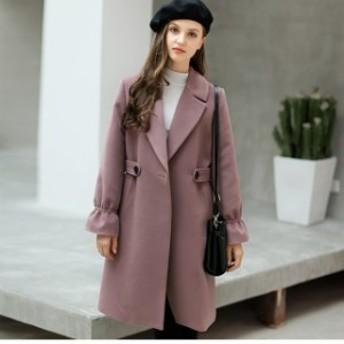チェスターコートオーバーコートコートジャケットレディースコート大きいサイズ冬ジャケットアウターfairレトロおしゃれ上品