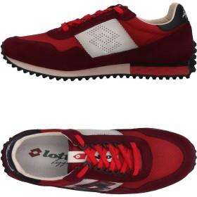 《セール開催中》LOTTO LEGGENDA メンズ スニーカー&テニスシューズ(ローカット) ディープパープル 41 紡績繊維 / 革