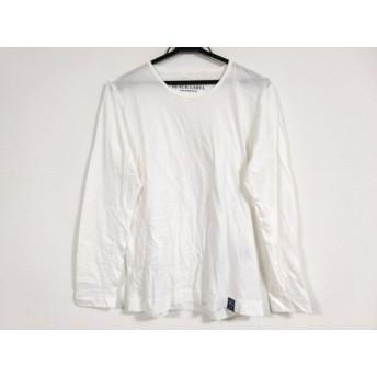 【中古】 ブラックレーベルクレストブリッジ 長袖Tシャツ サイズ2 M メンズ アイボリー