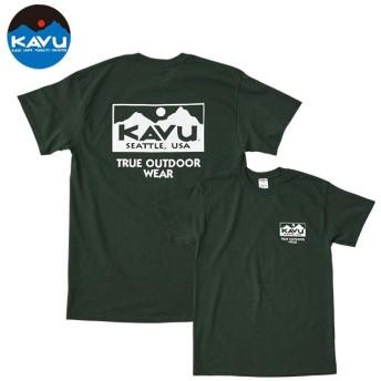 カブー KAVU Ms トゥルーロゴTシャツ フォレスト