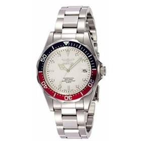 インヴィクタ男性の8933個のプロダイバーコレクション銀トーン時計