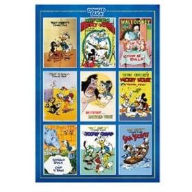 テンヨー ディズニー Movie Poster Collection Donald Duck 1000ピースジグソーパズル 返品種別B