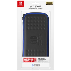タフポーチ for Nintendo Switch ブラック×ブルー