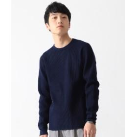 BEAMS BEAMS / サーマル カットソー メンズ Tシャツ NAVY XL