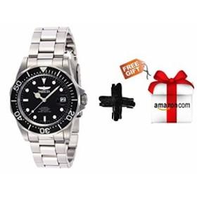 インヴィクタ男性の8926個のプロのダイバーのコレクションの自動巻きの時計(銀トーン/ブラックのダイヤル/半分オープンな後ろ+無料プレゼ