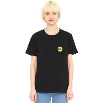 [マルイ]【セール】【ユニセックス】コラボレーションTシャツ/グリーンアップルロゴ(ザビートルズ)/グラニフ(graniph)