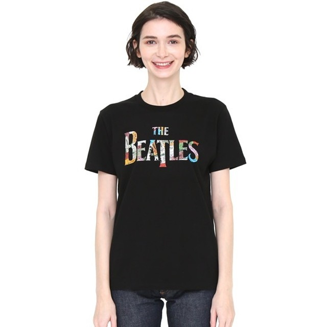 [マルイ] 【ユニセックス】コラボレーションTシャツ/チケットロゴ(ザビートルズ)/グラニフ(graniph)