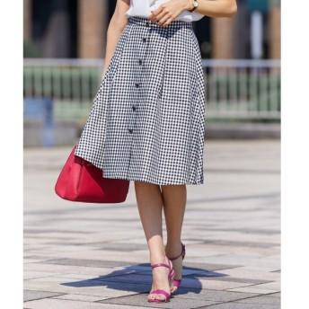 [マルイ]【セール】【洗える】フロントボタンタック スカート/エニィスィス(any SiS)