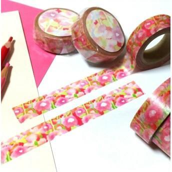 花柄マスキングテープ
