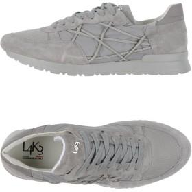 《期間限定 セール開催中》L4K3 メンズ スニーカー&テニスシューズ(ローカット) ライトグレー 39 革 / 紡績繊維