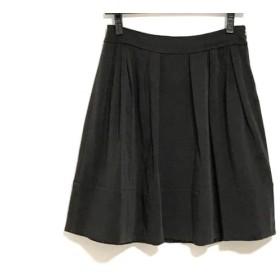 【中古】 トゥービーシック TO BE CHIC スカート サイズ38 M レディース ダークブラウン