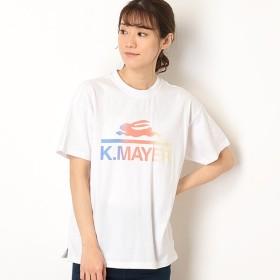 [マルイ]【セール】ブランドロゴユルT(BASIC)/クリフメイヤー(レディース)(KRIFF MAYER)