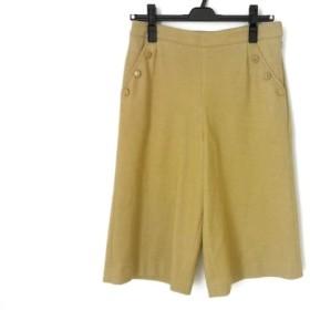 【中古】 ピッコーネ PICONE パンツ サイズ38 S レディース ベージュ 七分丈