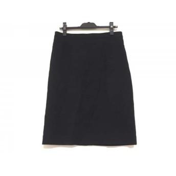 【中古】 ナラカミーチェ NARACAMICIE スカート サイズ3 L レディース 黒