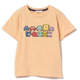 BEAMS mini CARプリントTシャツ キッズ