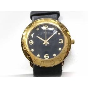 【中古】 マークジェイコブス MARC BY MARC JACOBS 腕時計 MBM1154 レディース 黒