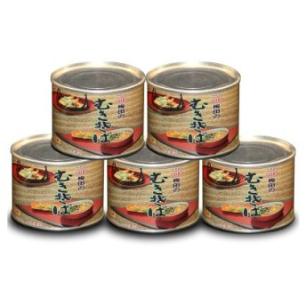 むきそば(小)5缶セット 国内産玄そばを高度な技術によって茹で上げた蕎麦の実100%の無添加自然食品