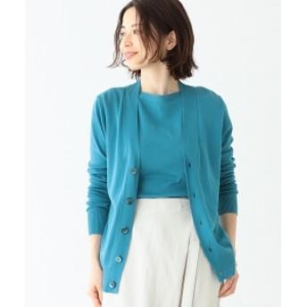 【VERY5月号掲載】Letroyes / HENRI コットンカーディガン レディース ニット・セーター 別注BLUE 0