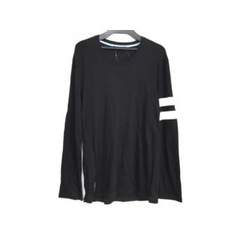 【中古】 ギルドプライム GUILD PRIME 長袖Tシャツ サイズ2 M メンズ 黒 白