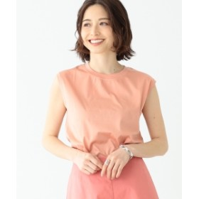 Demi-Luxe BEAMS Demi-Luxe BEAMS / スムース ノースリーブプルオーバー レディース Tシャツ PINK ONE SIZE