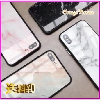 大理石風☆ 上品 高級感 マーブル模様 アイフォンカバー iPhoneカバー 6 6s 7 8 X プラス
