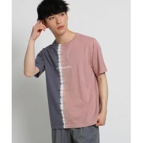 THE SHOP TK / ザ ショップ ティーケー 縦切替タイダイTシャツ