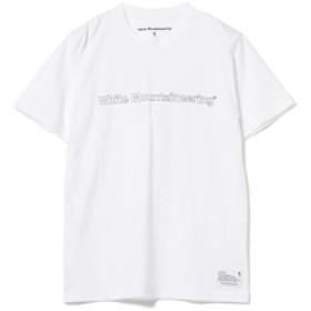 White Mountaineering / ロゴプリント Tシャツ メンズ Tシャツ WHITE 3/L