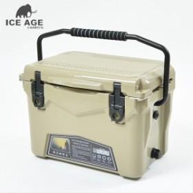 クーラーボックス 20QT 約19L 小型 プロ用 アウトドア 優れた保冷力 ICE AGE COOLER アイス エイジ クーラー 防災グッズ