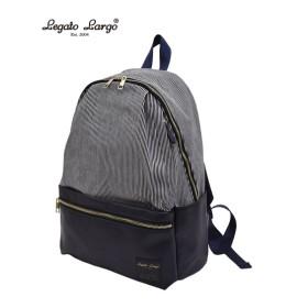 Legato Largo(レガートラルゴ)ナチュラル素材10ポケットリュック(A4対応) リュック・バックパック・ナップサック, Bags, 鞄