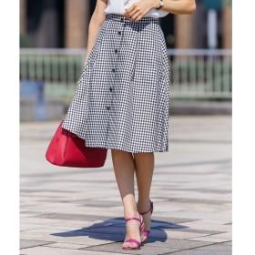 [マルイ]【セール】【洗える】フロントボタンタック スカート/エニィスィス Sサイズ(any SiS S)