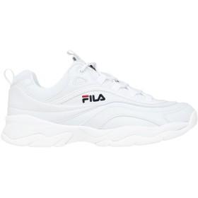 《セール開催中》FILA メンズ スニーカー&テニスシューズ(ローカット) ホワイト 42 紡績繊維 Ray low