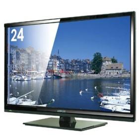 直送便 【送料無料】 APPCIE 24インチフルハイビジョン液晶テレビ DTV243 延長保証対象外 設置なし 玄関お渡し