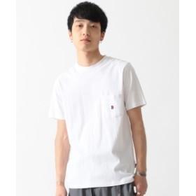 BEAMS / ワンポイント Tシャツ メンズ Tシャツ WHITE XL