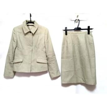 【中古】 ニューヨーカー NEW YORKER スカートスーツ サイズ7 S レディース ライトグリーン ライトブルー