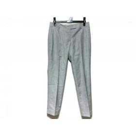 【中古】 トゥモローランド TOMORROWLAND パンツ サイズ36 S レディース 美品 グレー REGGIANI