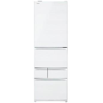 東芝 冷凍冷蔵庫 VEGETA GR-R470GWL(UW) [クリアグレインホワイト]