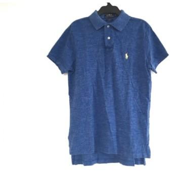 【中古】 ポロラルフローレン POLObyRalphLauren 半袖ポロシャツ メンズ ブルー