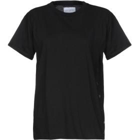 《期間限定 セール開催中》GALLE Paris レディース T シャツ ブラック 2 コットン 100%