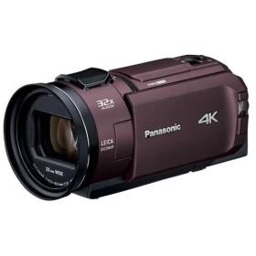 パナソニック デジタル4Kビデオカメラ HC-WX2M-T カカオブラウン
