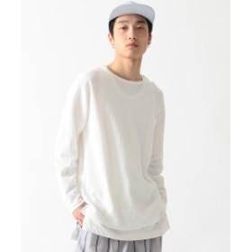 BEAMS / ダブルフェイス レイヤード Tシャツ メンズ Tシャツ WHITE L