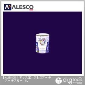 カンペハピオ アレスアーチ 水性塗料 つやけし多用途 アーチブルー 1L kanpe 塗料 水性塗料