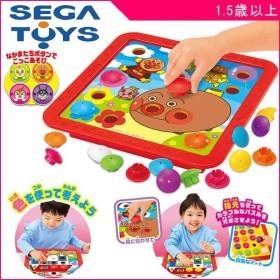 知育玩具 感性はぐくむ カラフルボタンパズル セガトイズ SEGA アンパンマン おもちゃ 男の子 女の子 孫 子育て 数字 色 形 誕生日 プレゼント kids baby
