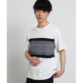 THE SHOP TK / ザ ショップ ティーケー テクニカルボーダーTシャツ