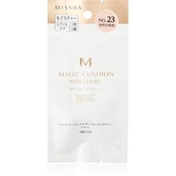 ミシャ M クッション ファンデーション (モイスチャー) レフィル No.23 自然な肌色 (15g)
