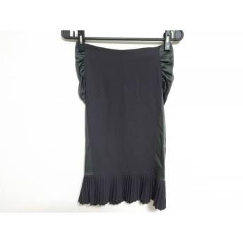 【中古】 エンポリオアルマーニ EMPORIOARMANI スカート サイズ38 S レディース 黒 グリーン