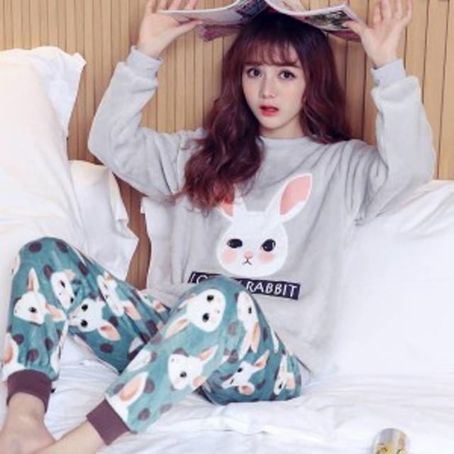 パジャマ ふわもこパジャマ 冬 著る毛布 上下セット パジャマセット メンズ 長袖 カップルパジャマ 女の子 レディース sy6