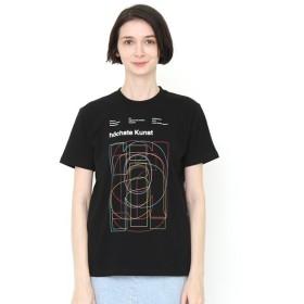 [マルイ] 【ユニセックス】ベーシックTシャツ/オーバーラップタイポ/グラニフ(graniph)