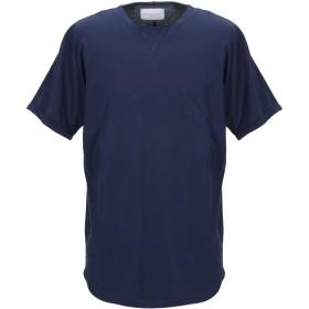 《期間限定 セール開催中》GALLE Paris メンズ T シャツ ダークブルー M コットン 100%