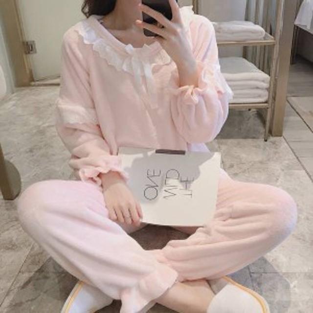 パジャマ ふわもこパジャマ 冬 著る毛布 上下セット パジャマセット メンズ 長袖 カップルパジャマ 女の子 レディース sy8