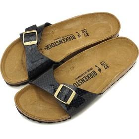ビルケンシュトック BIRKENSTOCK マドリッド Madrid メンズ レディース サンダル 靴 Magic Snake Black  GC1009042 GC1009043 SS19